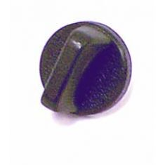 Interior Windshield Knob, Black, 76-86 Jeep CJ Models