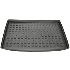 15-16 MB GLA-Class X156 Type Molded Black Rubber ~Mercedes Benz~ Logoed Cargo Trunk Area Tray (MB)