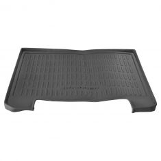 10-15 Toyota 4Runner (w/Sliding Deck Tray) Molded Black Rubber ~4Runner~ Logoed Cargo Mat (Toyota)