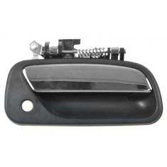 1993-98 Toyota T100 Front Outside Door Handle Black w/Chrome Lever RF