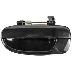 2000-06 Hyundai Accent Door Handle Outside Smooth Black LR