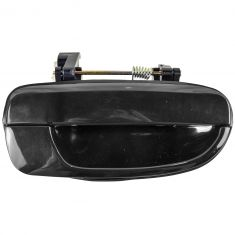 2000-06 Hyundai Accent Door Handle Outside Smooth Black RR