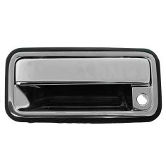 88-02 GM Full Size PU, SUV, Suburban Front Chrome Plated Metal Outside Door Handle LF