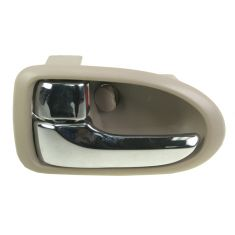 2000-06 Mazda MPV Chrome & Beige Inside Door Handle LF