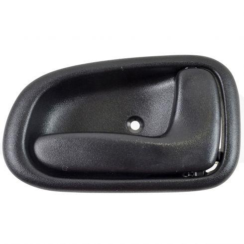 For Toyota Corolla Geo Prizm 93-97 Inner BLACK Front or Rear Driver Door Handle