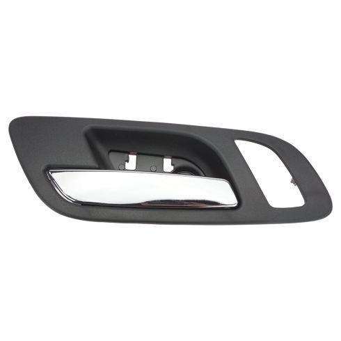 07-12 GM Full Size PU & SUV (w/Htd Seat & Memory) Front Door Inside Handle (Ebony & Chrome) LF
