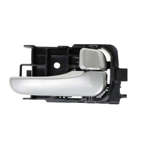 04-06 Nissan Sentra Smooth Silver Inside Door Handle LR = RR