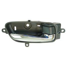 13-15 Nissan Altima, Pathfinder Front or Rear Door Chrome & Black Inside Door Handle RH