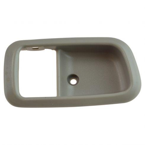 Front Right Inside Door Handle Dark Gray for 00-06 Toyota Tundra Regular Access