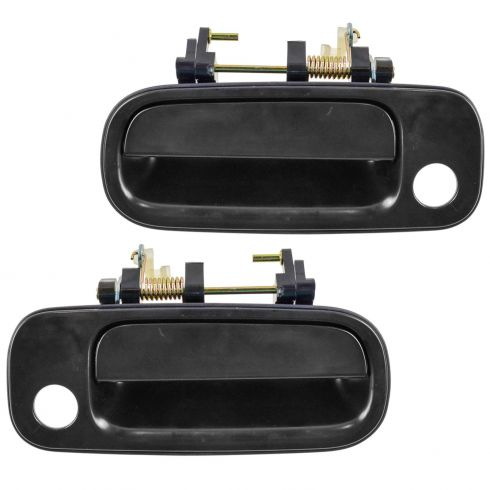 1992 96 Toyota Camry Front Driver Passenger Side 2 Piece Exterior Door Handle Set Diy Solutions