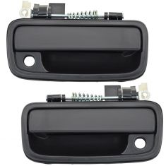 95-04 Toyota Tacoma Ext Door Handle All Black Pair