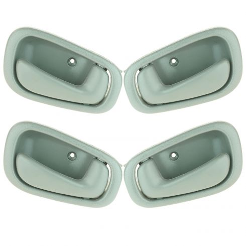 98-02 Toyota Corrola Inner (Gray) Door Handle (SET of 4)