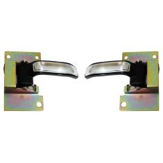 1974-80 Chevy GMC Pickup Door Handle Inside PAIR
