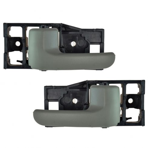 00-06 Toyota Tundra (Access Cab) Charcoal Rear Door Inside Handle PAIR