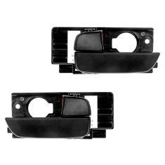 07-11 Hyundai Accent Hatchback Front Door Textured Black Inside Handle PAIR