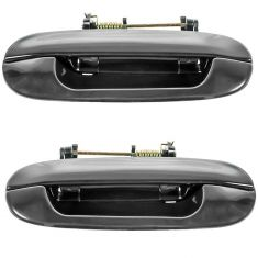 02-09 GM Mid Size SUV Rear Door Outer PTM Handle w/Keyhole PAIR