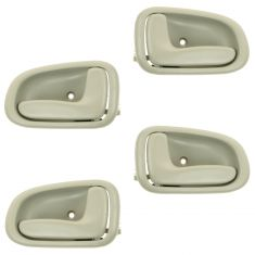 93-97 Toyota Corolla Beige Inside Door Handle (Set of 4)