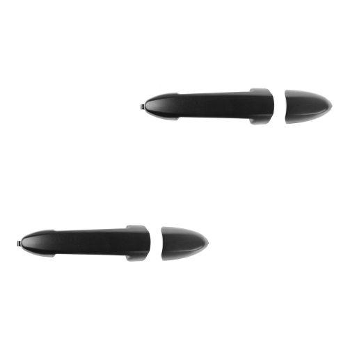 01-12 Escape; 05-12 Mariner, Escape Hybrid Txt Blk Outer Door Handle (w/Cap w/o Keyhole) PAIR