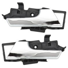 07-11 Chevy Aveo Sedan; 09-11 Aveo 5; 09-10 G3, Wave Hatchback Inside Chrome Door Handle PAIR