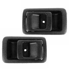96-02 Toyota 4Runner; 01-04 Tacoma; 95-99 Tercel Inside Black Door Handle PAIR