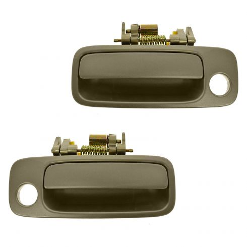 Door Handle Outside Beige Front Driver Side Left LH fits 1997-2001 Toyota Camry