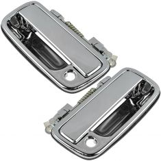 95-04 Toyota Tacoma Front Chrome Outside Door Handle Pair