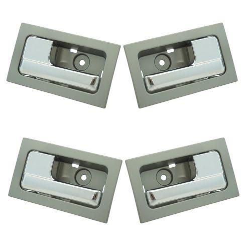 09-14 Ford F150 w/Power Locks Inside Platinum w/Chrome Pull Door Handle SET of 4