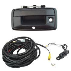 15-16 Chevy Colorado, GMC Canyon Blk Txtrd Rear View Back Up Camera Upgrade Kit (Add on)