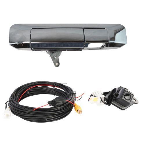 09-15 Toyota Tacoma Chrome Rear View Back Up Camera Upgrade Kit (Add on)