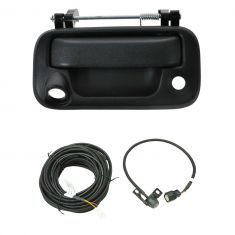 08-15 Ford Pickup; 08 Mark LT Textured Black Rear View Back Up Camera Upgrade Kit (Add-on Style)