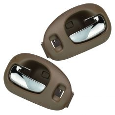 98-04 300M, Concord; 99-01 LHS Front Inner Beige w/Chrome Pull Door Handle Pair
