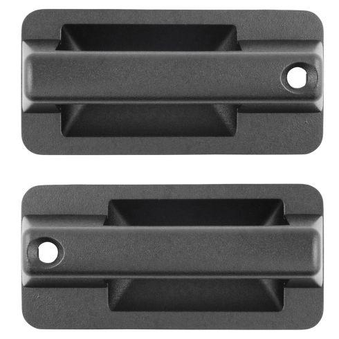 95-02 GM Kodiak, Topkick C60, C6000, C70, C7000 Front Black Outside Door Handle Pair