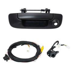 02-08 Dodge Ram 1500; 03-09 Ram 2500, 3500 Textured Black Back Up Camera Upgrade Kit (Add-on Style)