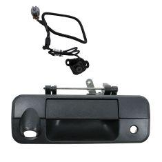 07-13 Toyota Tundra Black Textured Rear View Back Up Camera Upgrade Kit (OE type)