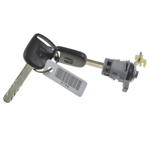 How to Replace Door Lock Cylinder 03-05 Honda Civic   1A Auto