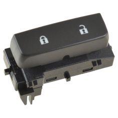 07-11 Chevy Silverado, GMC Sierra Frnt Door Mounted Black Door Lock Switch (w/Blue Lighting) RF (GM)