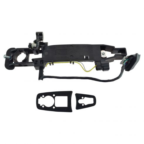 2008 Cadillac CTS, STS (w/Factory Remote Start) Outside Door Handle Bracket w/2 Connectors LF (GM)