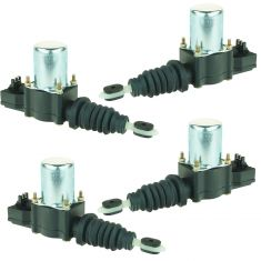 77-03 GM Lock Actuator 4 Piece Set