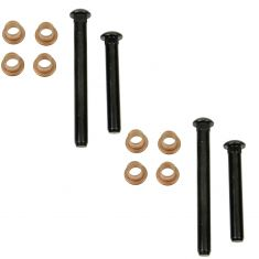 68-78 Chrysler, 66-83 Dodge, Plymouth Multifit Door Hinge Pin & Bushing Kit (4 Pins & 8 Bushings)
