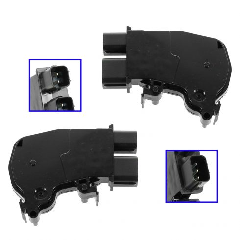 01-10 Acura Honda Multifit Power Door Lock Actuator PAIR