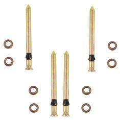 82-05 Astro, Safari, S10 Blazer, S15 PU, Bravada Door Hinge Pin & Bush Kit (4 Pin & 8 Bushings)