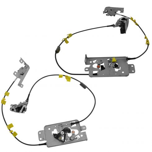 Fddrk00006 Ford F150 Rear Door Latch Cable Assembly Pair