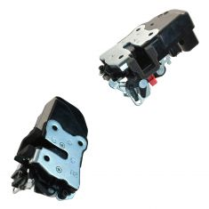 02-09 Dodge Ram 1500, 2500, 3500 Rear Door Power Door Lock Actuator w/Integrated Latch PAIR (MOPAR)