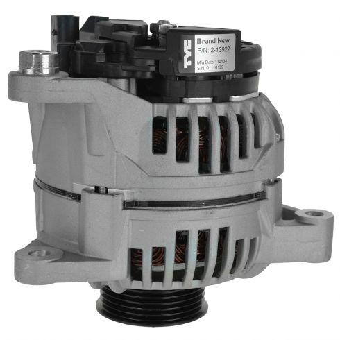 99 (from VIN 150001)-05 Passat w/1.8L, 2.8L; 99-02 Audi A4 w/1.8L; 04 A6 w/2.7L (120 Amp) Alternator