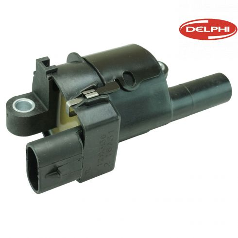 05-13 GM, Hummer, Saab Multifit w/V8 (Delphi - Round Style) Ignition Coil w/Module (Delphi)
