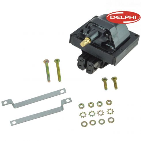 85-97 GM; 90-93 Storm; 87-94 Isuzu; 85-86 Jeep Multifit w/L4, V6, V8 Ignition Coil (Delphi)