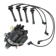 88-1991 Civic CRX 1.5 1.6 Distributor and Wire Set
