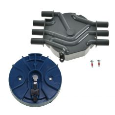 GM Multifit 6 Cyl Distributor Cap and Rotor Kit