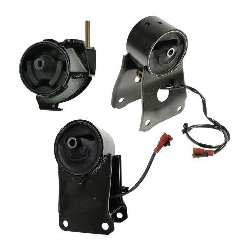 Rear Firewall Side Engine Motor Mount w// Sensor For Nissan Maxima Infiniti I30
