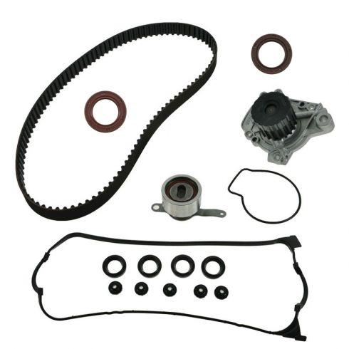 96-00 Honda Civic; 96-97 Del Sol 1.6 SOHC Timing Belt w/ Water Pump VC Gasket & Seals